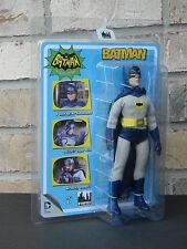 "BATMAN Classic 1966 TV Series 1 8"" Inch Retro Action Figure Adam West DC Comics"