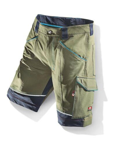 Bullstar Stretch-Short Kurze Arbeitshose Arbeitskleidung flexit oliv Gr 52