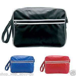 2adee21ee7 Идет загрузка изображения PVC-RETRO-STYLE-SPORTS-MESSENGER-BAG-MENS-CASUAL-
