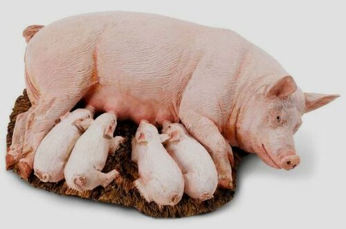 SOW with PIGLETS # 235929 ~Replica ~FREE SHIP in USA  w// $25+SAFARI,Ltd.Products