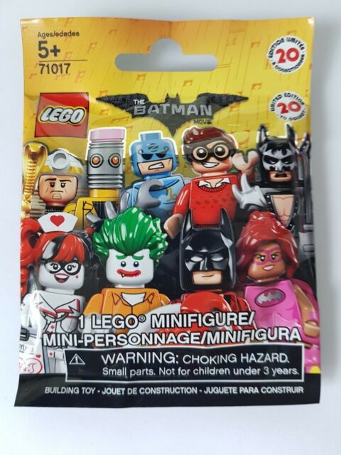 NEW SEALED Lego Batman Movie Series Minifigure 71017 BLIND PACK Pick 1 or More