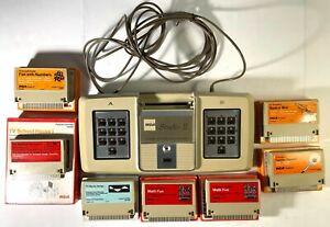 RCA Studio 18V100 console video II 7 giochi scatole e manuali non testato VINTAGE VIDE