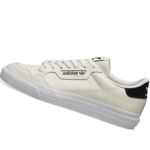 ADIDAS-MENS-Shoes-Continental-Vulc-Off-White-amp-Black-EG4589