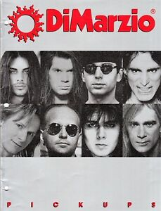 DiMarzio-Pick-Ups-1992-Product-Catalogue-Good-Condition