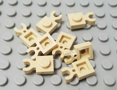 LEGO New Lot of 25 Light Bluish Gray Star Wars Creator 1x1 Vertical Clip Plates