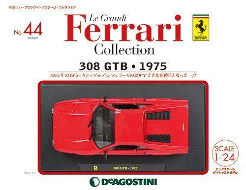DeAGOSTINI Le Grandi Ferrari collection No.44 avec 1 24 308 GTB 1975 Magazine