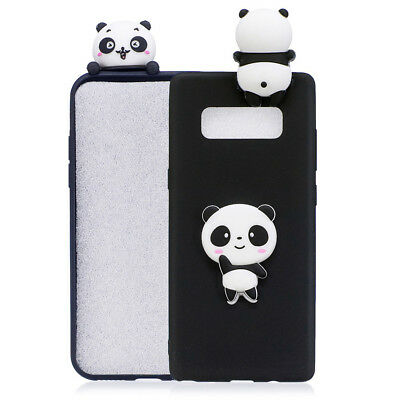 3D Cartoon Shockproof Silicone Cute Rubber Soft Case Cover For Samsung S8 Plus