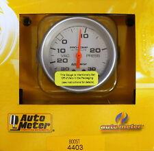 Auto Meter 4403 Ultra Lite Vacuum Boost Mechanical Gauge 2 5/8 30 In.Hg/ 30 PSI