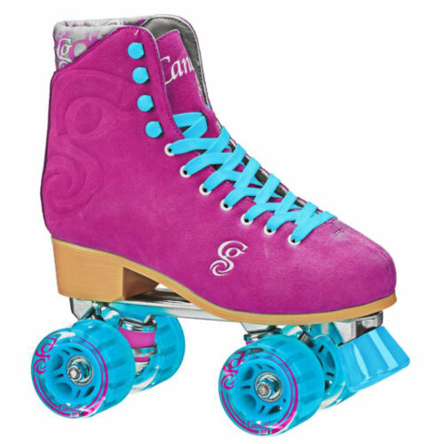 New Candi Girl Carlin Raspberry Roller Skates Girls Ladies Size 3-11