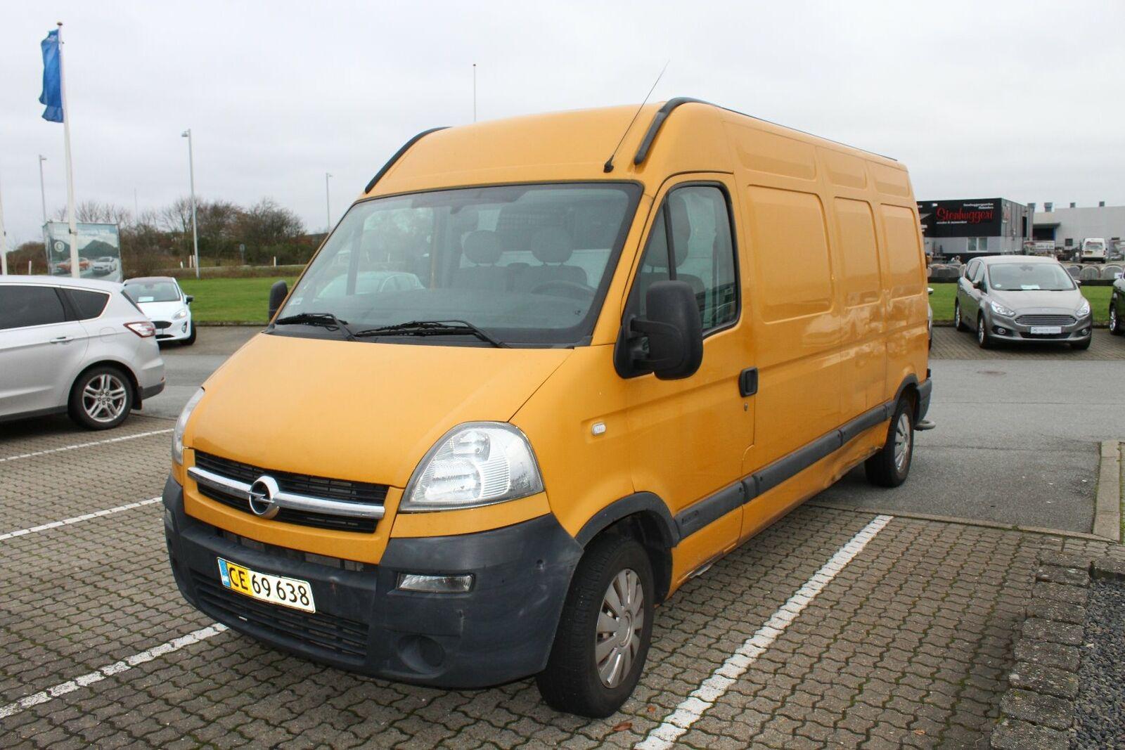 Opel Movano 2,5 CDTi 100 Kassevogn L3H2