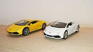 Lamborghini-Huracan-LP-610-4-SCALA-DIECAST-MODELLO-AUTO-SCALA-1-38-NUOVO