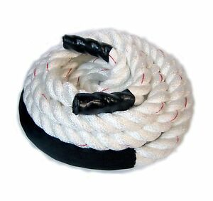 "1.5/""x 50/' black Polydac Workout Training Fitness Battle Exercise Undulation Rope"