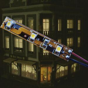 Das Bild Wird Geladen LED MODELL HAUS BELEUCHTUNG WARMWEISS 8 16V AC