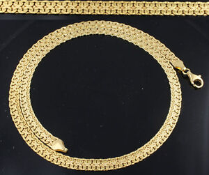 Halskette-Gelbgold-Damen-Collier-Kette-333er-Gold-8kt-45-cm-5-5-mm-Goldkette