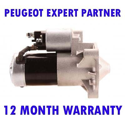 Peugeot partner 1.9 2.0 1996 1997 1998 1999 2000-2015 starter motor