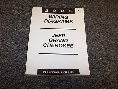2005 Jeep Grand Cherokee Electrical Wiring Diagram Manual ...