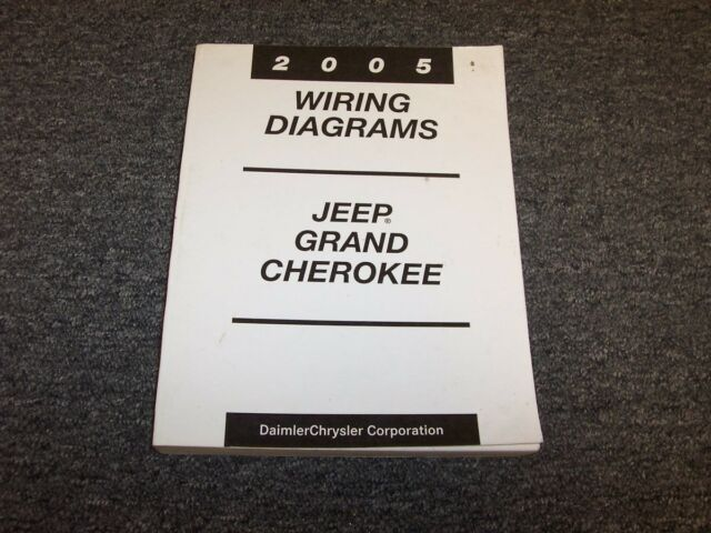 2005 Jeep Grand Cherokee Electrical Wiring Diagram Manual