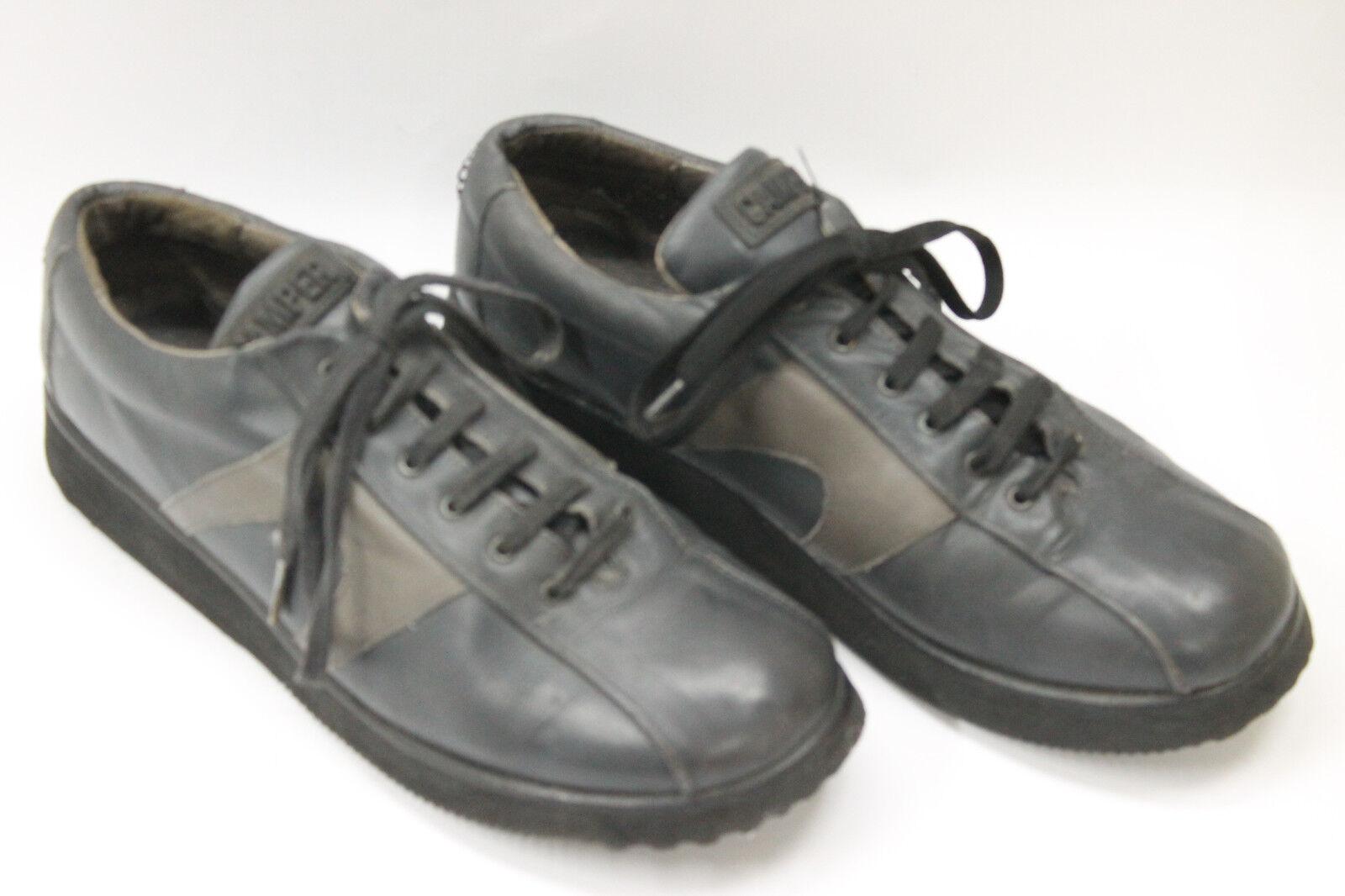 CAMPER men shoes sz 8 Europe 41 black leather S7268