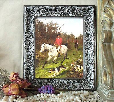 Fine Art Poster//Dogs// /'Fox hunt/' Thomas Blinks 1853-1910
