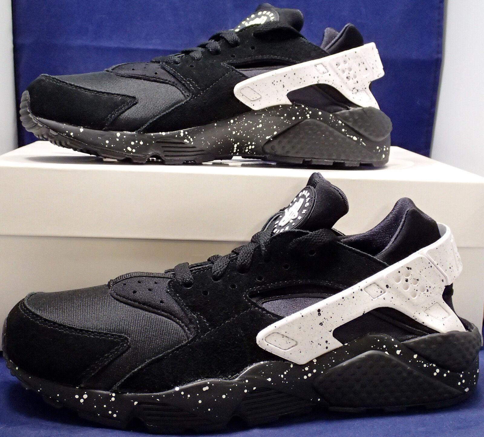 Nike Air Huarache Run iD Black White SZ 8.5 ( 777330-997 )