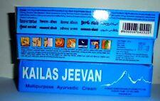 2 Kailas Jeevan TUBE Ayurvedic Skin Cream Multipurpose Herbal Antiseptic Acne
