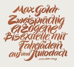 MAX-GOLDT-ZWEISPRACHIG-ERZOGENE-BISEXUELLE-MIT-FAHRRADERN-2-CD-NEU
