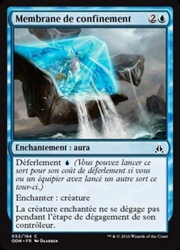 Mtg magic ogw - containment membrane//containment membrane x4 French//vf