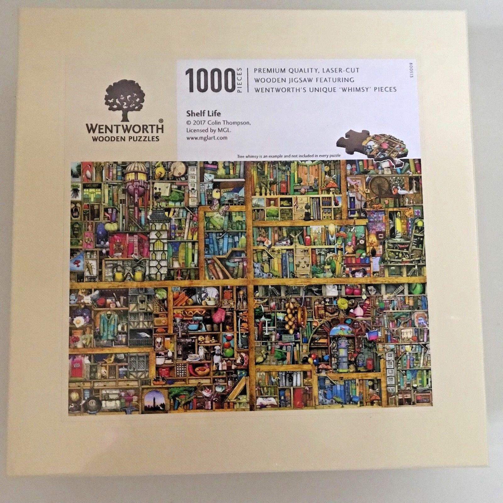 Wentworth 1000 Pezzi Puzzle in legno,  fantasia  pezzi-shelf life