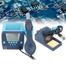New Listing2in1 Smd Digital Soldering Iron Rework Station Hot Air Gun Kit 560w Lcd Display