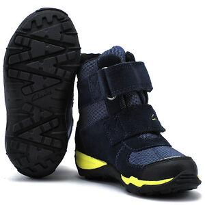 Clarks Boys 'Huxley Up GTX' Boots (Snow) 2 1/2 G - Blue