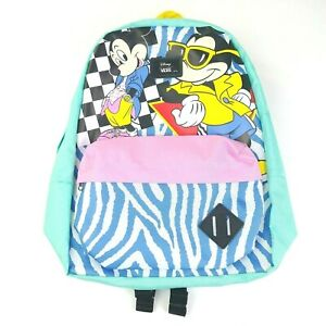1dcc341b2 Details about VANS X DISNEY OLD SKOOL BACKPACK 80'S MICKEY MOUSE MULTI  COLOR NEW WITH TAGS