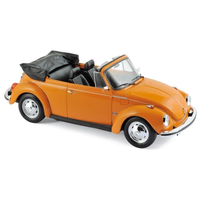 Norev 188521 - 1 18 - Volkswagen 1303 cabriolet 1973 - Orange