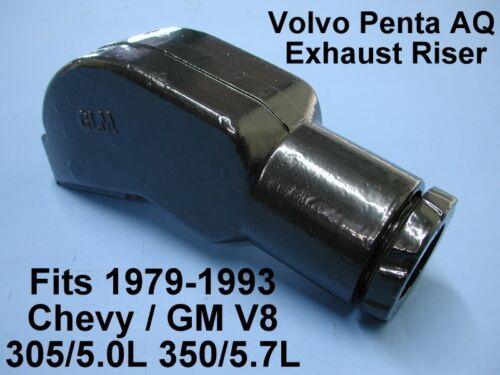 "EXHAUST RISER ELBOW 3-3//4/"" CHEVY V8 VOLVO PENTA MANIFOLD 305 350 79-93 856891"