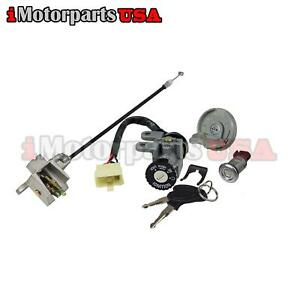 Details about CHINESE GY6 50CC 125CC 150CC SCOOTER MOPED KEY IGNITION  SWITCH LOCK SET 4 PINS