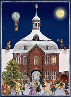 Richard Sellmer Verlag Traditional German Paper Advent Calendar Victorian Scene