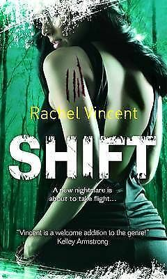 """AS NEW"" Vincent, Rachel, Shift Book"