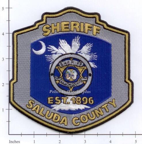 South Carolina Saluda County Sheriff SC Police Dept Patch