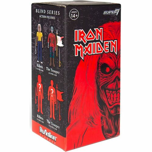 Iron Maiden Super 7 REACTION 1 Blind Box Figure Neuf Scellé