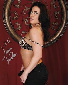 inari vachs model adult film star signed autograph 8x10 photo #4 w
