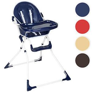 Trona silla de bebe para niños con bandeja y bebés rojo azul beige marrón