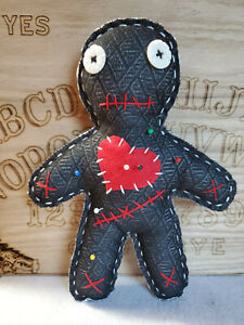 Handmade-VooDoo-doll-with-pins-9-inch-tall