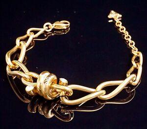 Guess UBB29025  Damen Armband IP Gold  Kristall neu