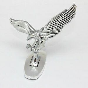 Image Is Loading Car Front Cover Chrome Hood Ornament Badge