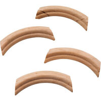 French Provincial Carved Wood Corners - Cherry (4 Per Pack)