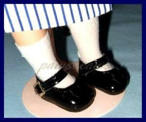 RED Patent Mary Jane Doll SHOES for BLEUETTE Vintage Patsyette