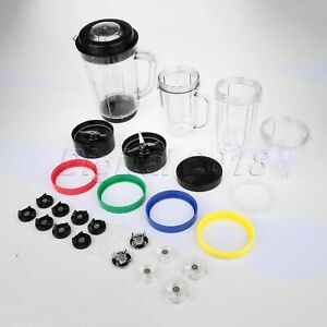 For-Magic-Bullet-Blenders-Juicer-Mixer-Accessories-Cup-Gasket-Seal-Lids-Blade