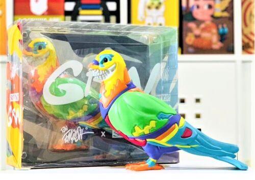 "Mighty Jaxx x Ron English x Staple Exclusive ~ Pigeon Grin Vinyl Figure 8/"""