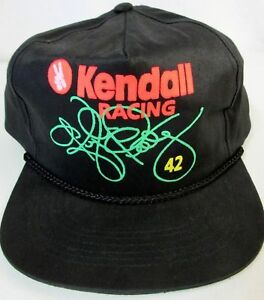 13e1607c Image is loading Vintage-Kendall-Racing-42-Kyle-Petty-Snapback-Hat-