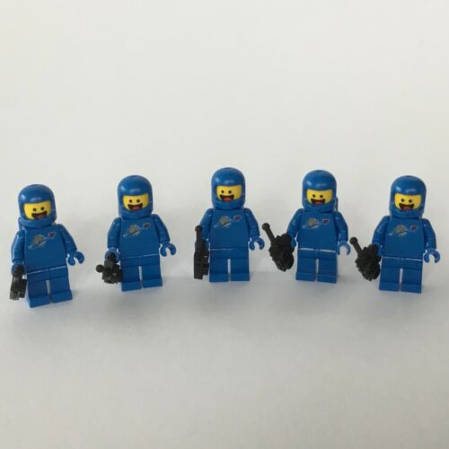 5 Lego Minifigur Benny blau tlm107 aus 70841 NEU The Lego Movie 2 Classic Space