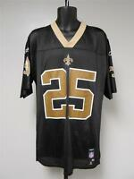 NEW Rafael / Reggie Bush #25 New Orleans Saints MENS M-L-XL Reebok Jersey